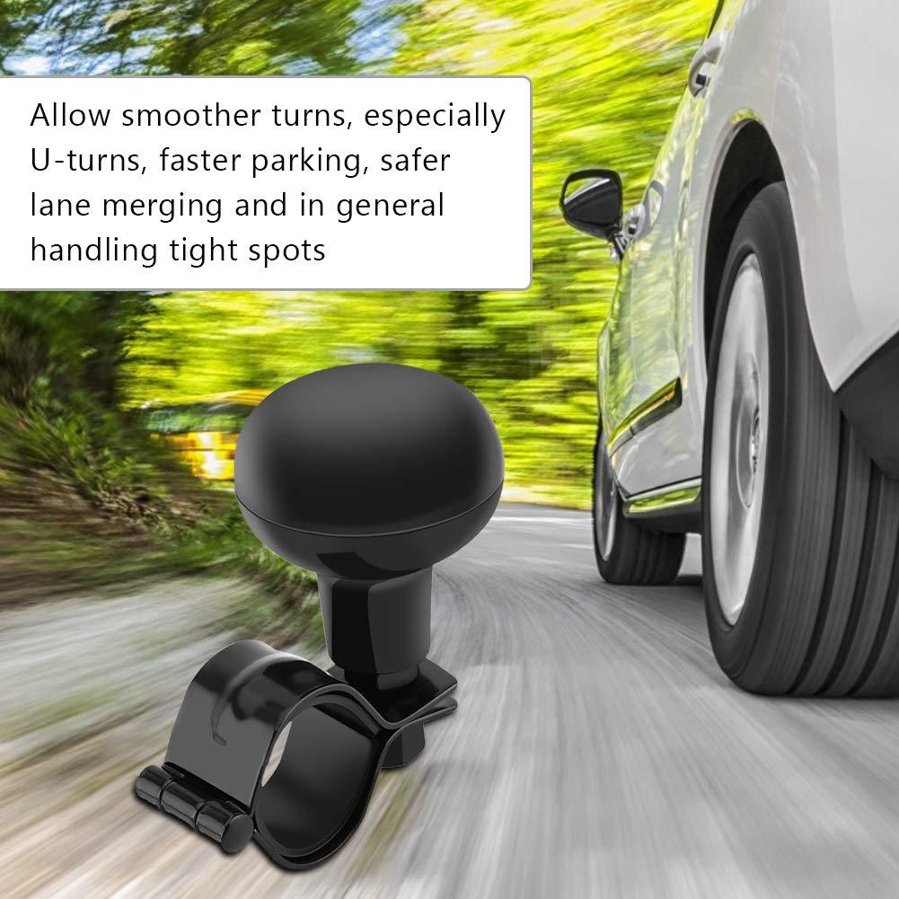 Universal Car Steering Ball Heavy Duty Steering Handle Ball Black Steering Wheel Knob Vehicle Steering knob
