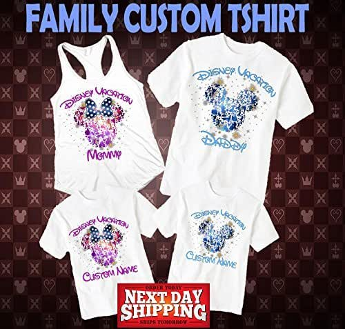 Disney family shirts disney shirts disney for Amazon custom t shirts