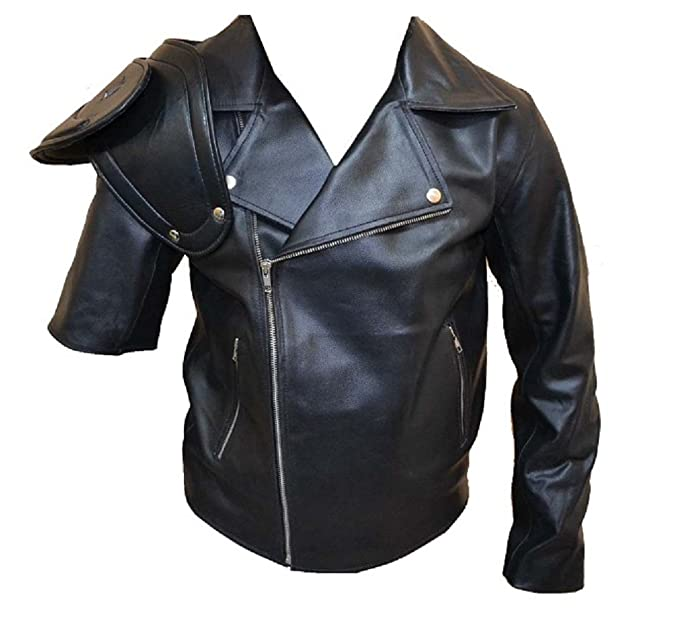 SouthBeachLeather Mad Max Road Warrior Jacket/Mad Max 2 Jacket at Amazon Mens Clothing store: