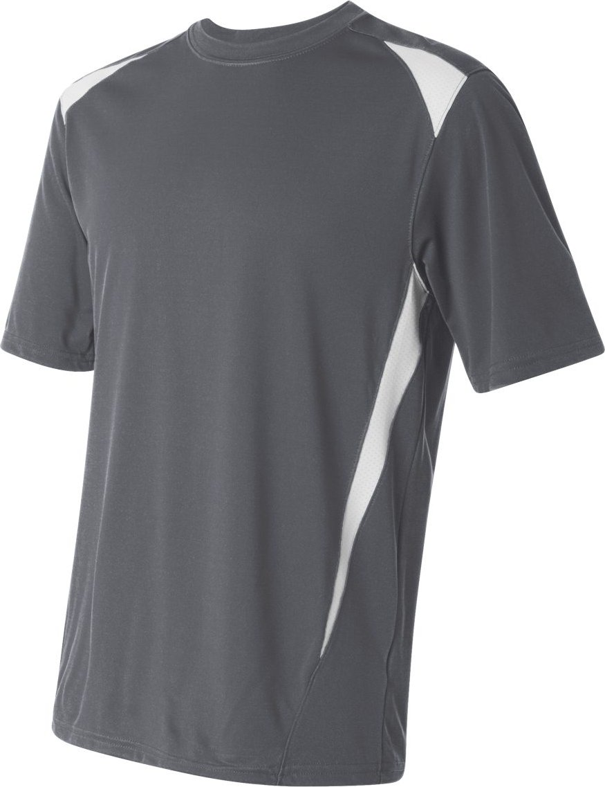 Augusta Sportswearメンズプレミアクルー B007P881VK XXX-Large|グレー/ホワイト グレー/ホワイト XXX-Large