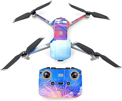 STARTRC Pegatina Mavic Air 2, pegatinas de PVC impermeables para DJI Mavic Air 2 Drone Body, control remoto y batería Pieles: Amazon.es: Electrónica