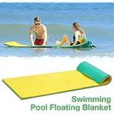 juman Swimming Foam Pool Floating Mattress, Pool Float Water Blanket Water Floating Bed Soft Comfortable Water Float Mat…
