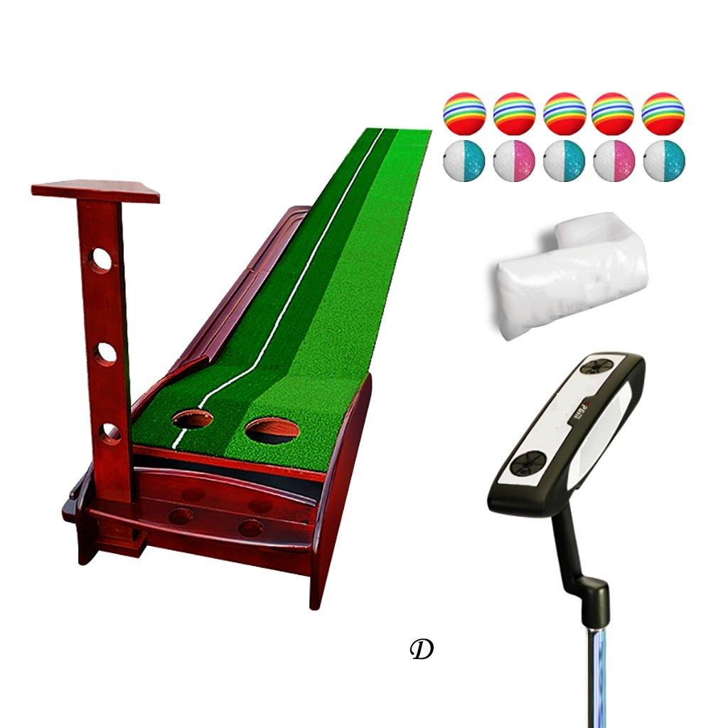 WENZHE ゴルフマットパターマット ゴルフマットセットボールスロープに戻ることができますソリッドウッドホームタイプ3.5 * 0.3m / 3 * 0.3m  3*0.3m#1 B076SXHK1M