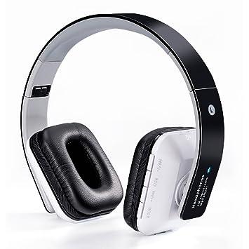 WanEway B-02 Auriculares Inalámbricos Bluetooth, Micrófono Integrado, Batería Interna Recargable y Cómodas