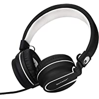 rockpapa 950 Stereo Lightweight Foldable Headphones Adjustable Headband With Microphone 3.5mm For Cellphones Smartphones…