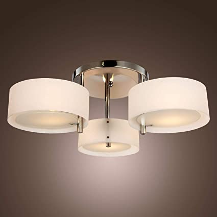LightInTheBox Acrylic Chandelier with 3 lights (Chrome Finish) Chandeliers at amazon