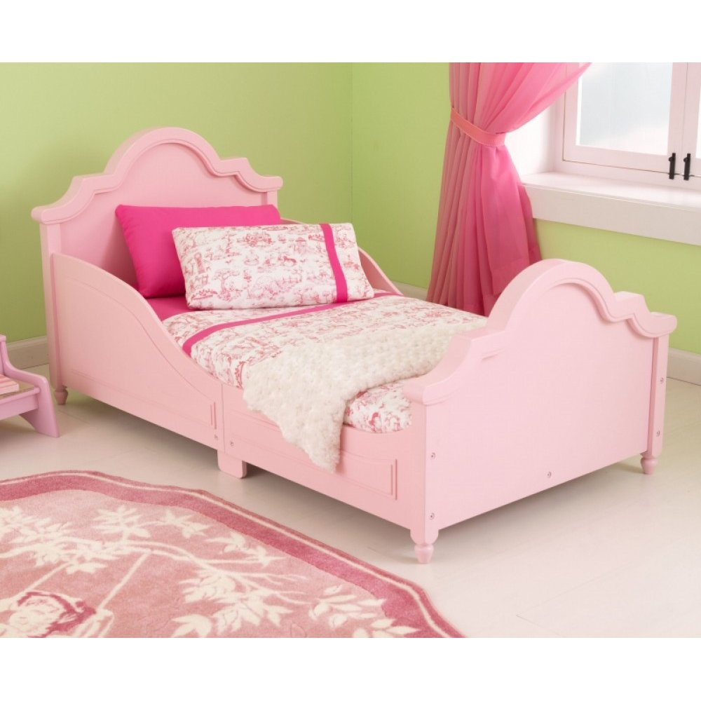 Kidkraft Raleigh Toddler Bed In Pink Amazonca Toys Games