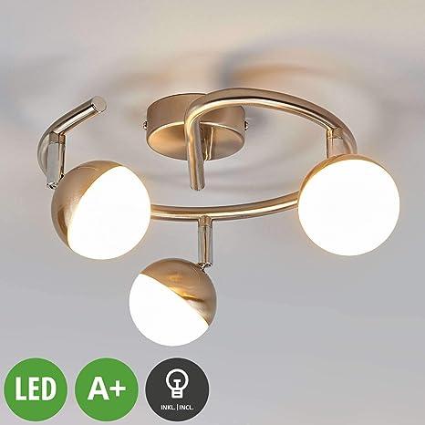 LED Lámpara de techo Jonne (Moderno) en Gris hecho de ...
