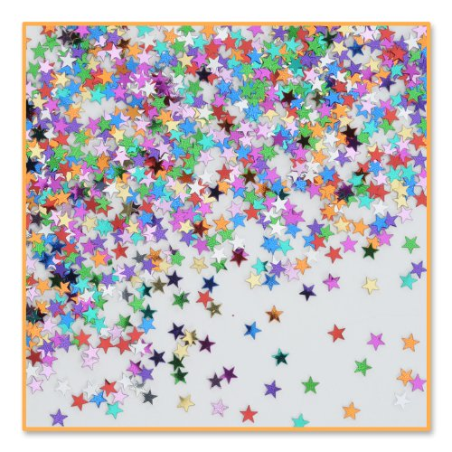 Party Stars Confetti (Pack of 96) by Beistle