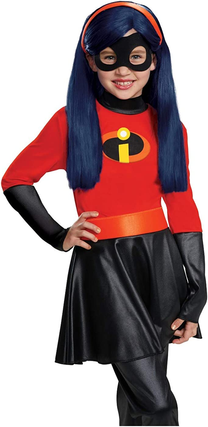 Amazon Com Disguise Exclusive Target Girls The Incredibles 2 Violet Parr Halloween Costume Wig Clothing