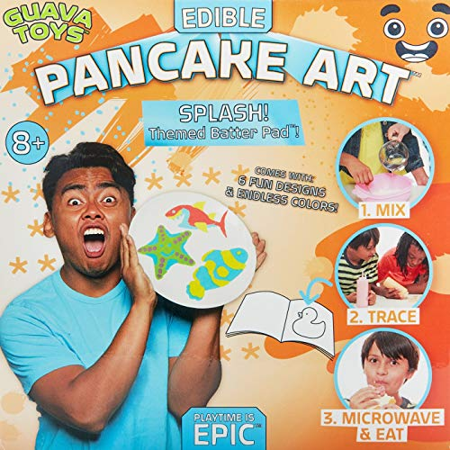 (Guava Toys Pancake Art Activity)