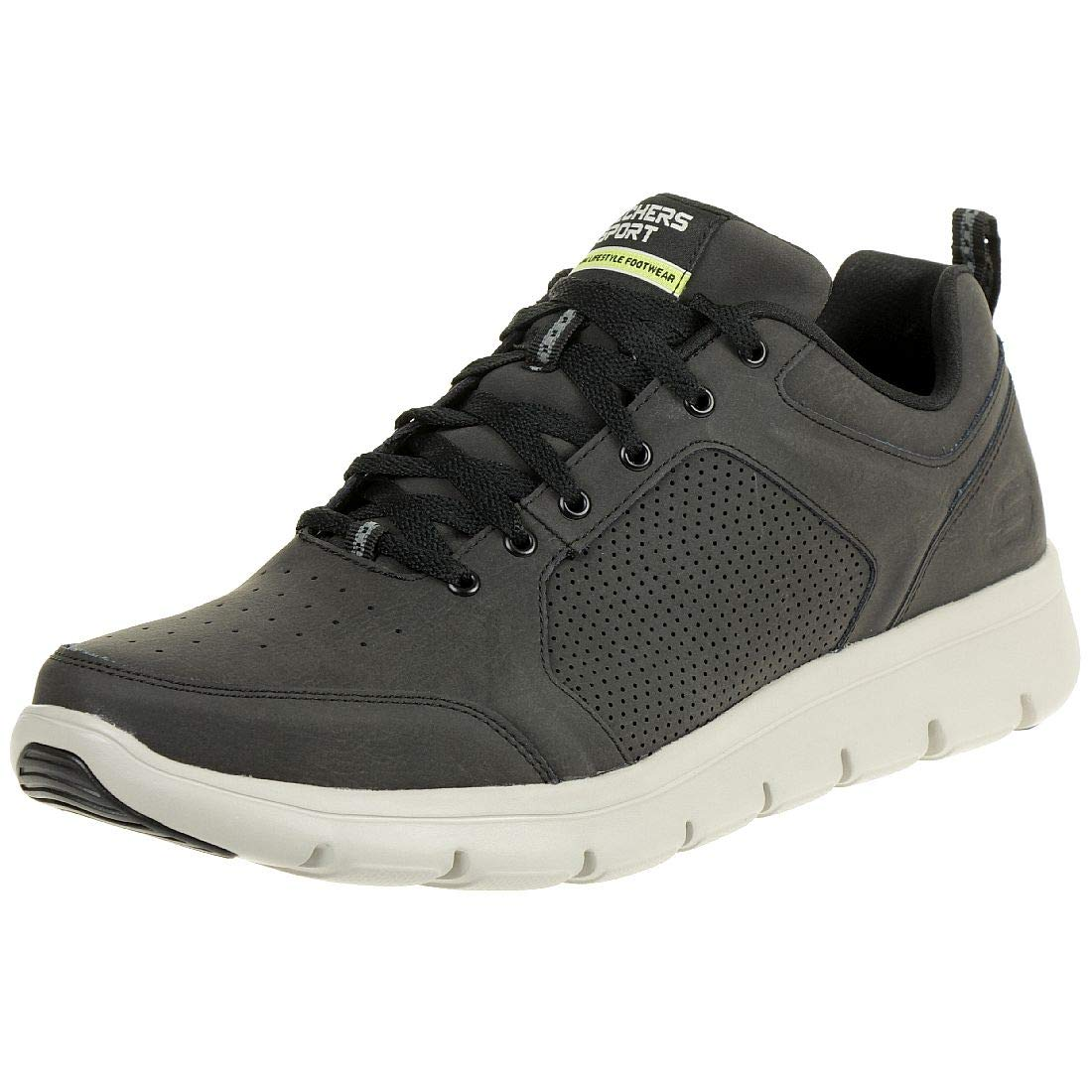 TALLA 43 EU. Skechers Marauder Sky JOLT Men Outdoor Sneaker Black 999840