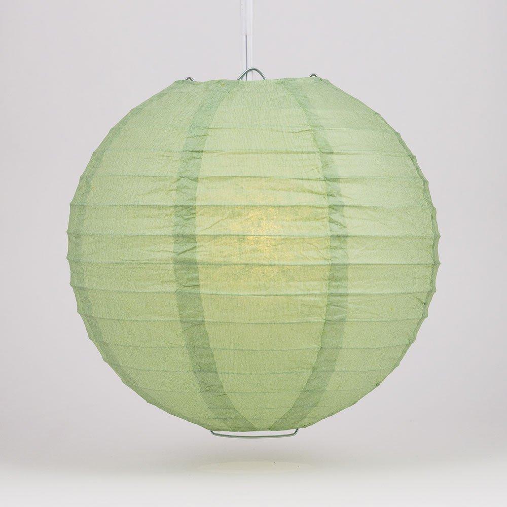 球体ペーパーランタン うね織り模様 ぶらさげるのに(電球は別売り) 10 Inch グリーン 10EVP-SG 1 B00THPT2QC 10 Inch|シーグリーン シーグリーン 10 Inch