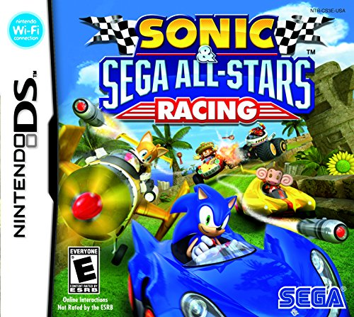 Sonic All Star Racing - Nintendo DS (Sonic Games For Nintendo Ds)