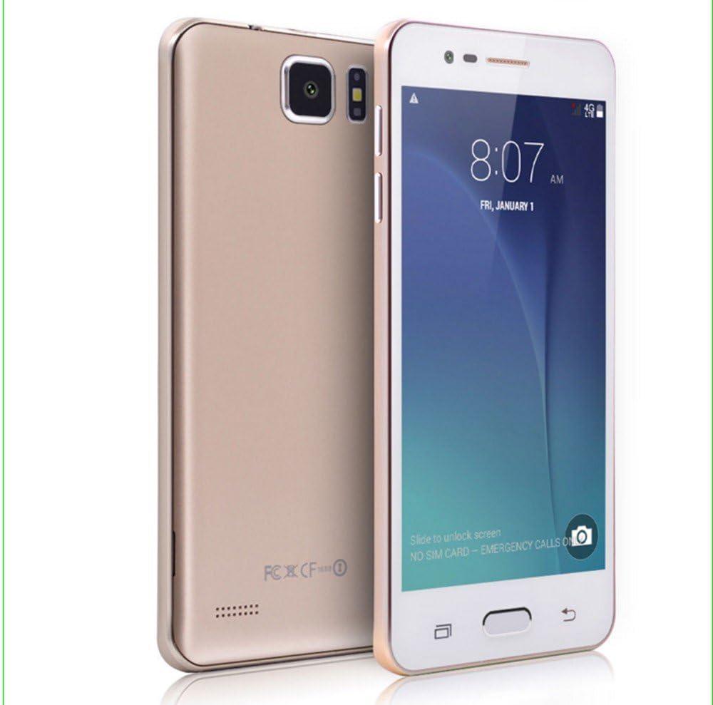 Telefono Móvil CMX T5 libre smartphone android color dorado 5.0 ...