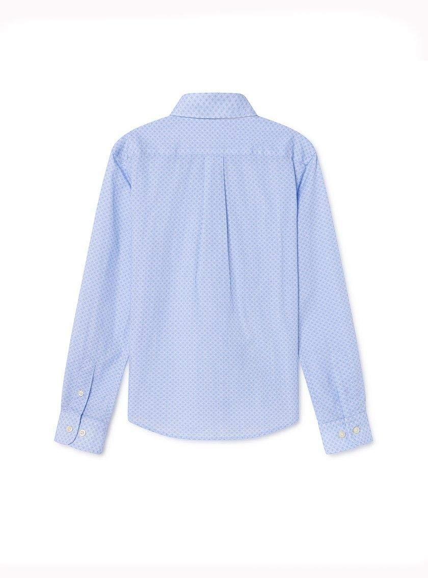 Camisa Hackett Textura Azul Niã±o 12 Marino: Amazon.es: Ropa y accesorios