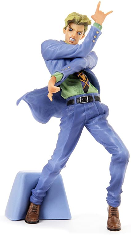 Amazon Com Banpresto Jojo S Bizarre Adventure Diamond Is Unbreakable Jojo S Figure Gallery 5 Yoshikage Kira Action Figure Toys Games