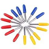 15pc 30/45/60 grados Roland Vinilo Plotter de Corte Cricut Cuchillas de repuesto cortador de Roland: Amazon.es: Bricolaje y herramientas