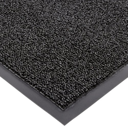 Black Rain Rug (Carpeted Entrance Mat, Black, 2ft. x 3ft.)