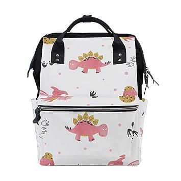 Amazon.com: Domook Bolsa de pañales para bebé, bolsa de ...