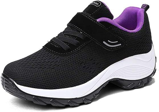 Zapatillas de Correr para Mujer Zapatillas de Deporte de Malla ...