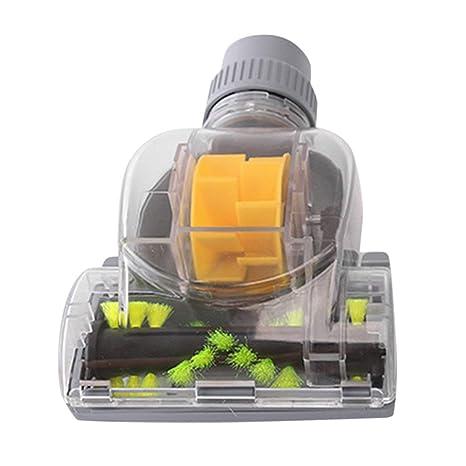 LoveOlvidoE Hogar 32MM Aspirador Turbo Cepillo de Piso Accesorios de aspiradora Mini Turbo Cepillo de Piso