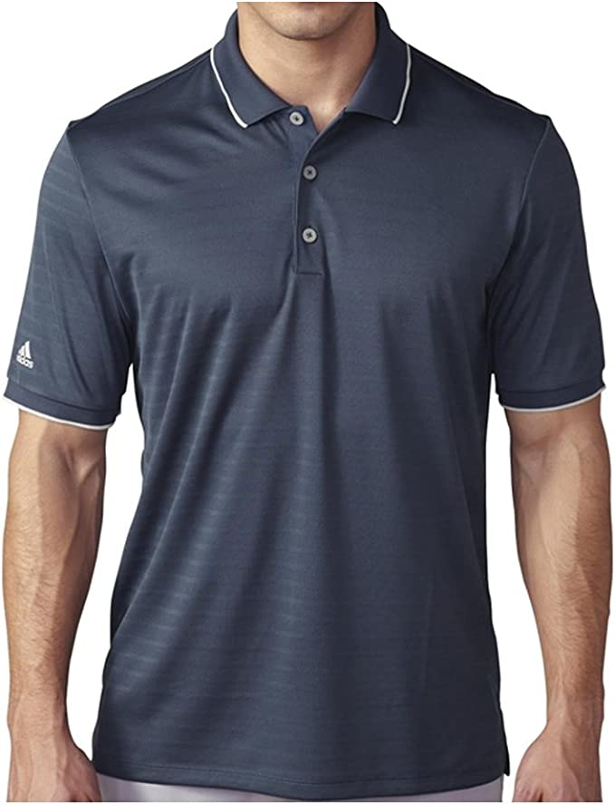 adidas Golf Camisa de Club Polo con Punta de Climacool para Hombre ...