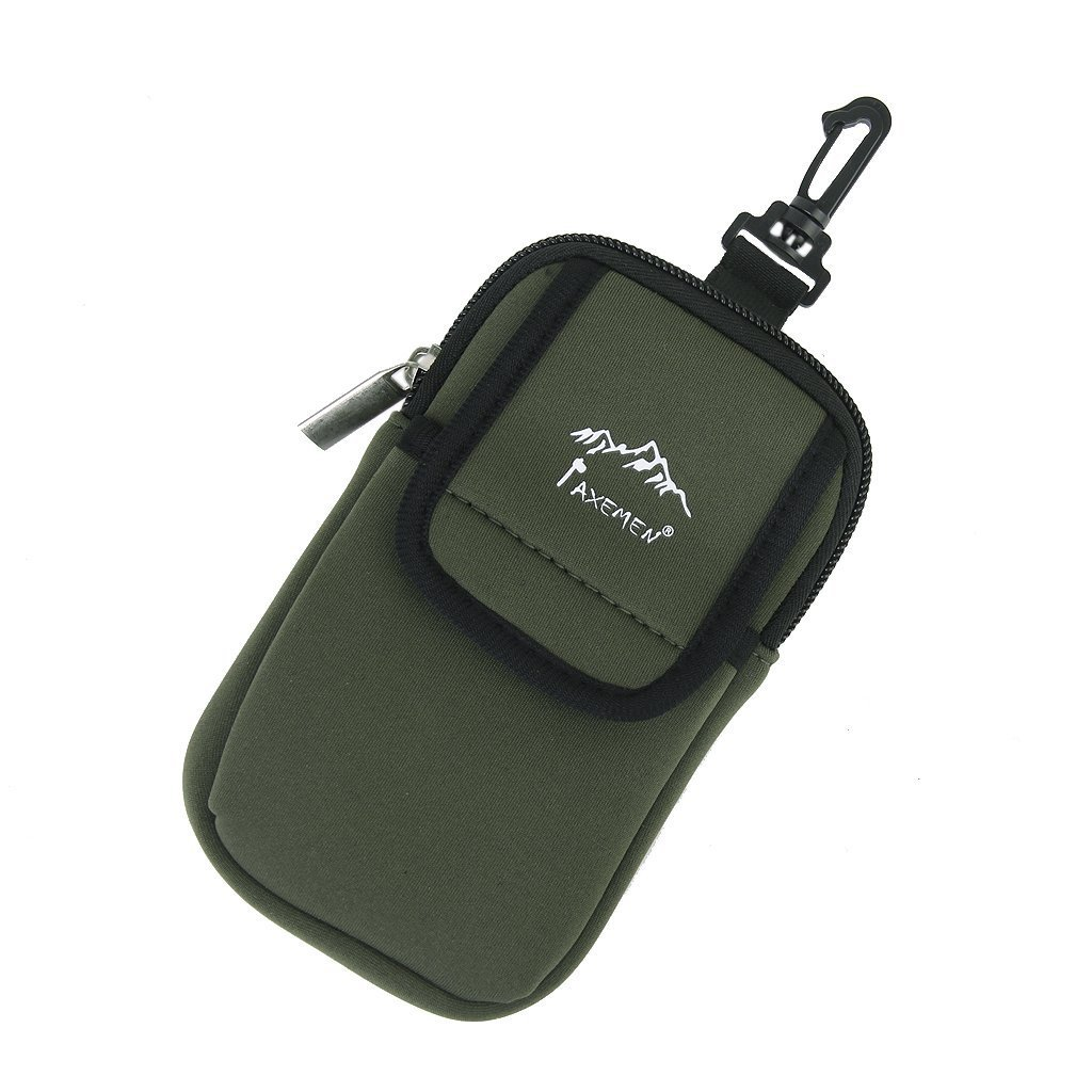 ZCSMg Portable Radio Phone Gadgets Case Pouch Holder Hook for Climbing Camping Hiking Bag Backpack