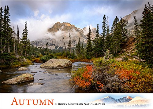 Autumn in Rocky Mountain National Park: Box of 12 Blank Greeting Cards With Scenic Nature Photos by Erik Stensland
