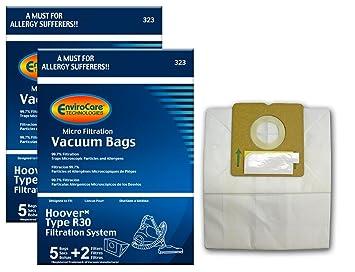 Amazon.com: 10 R30 Allergy – Bolsas para aspiradora Hoover + ...