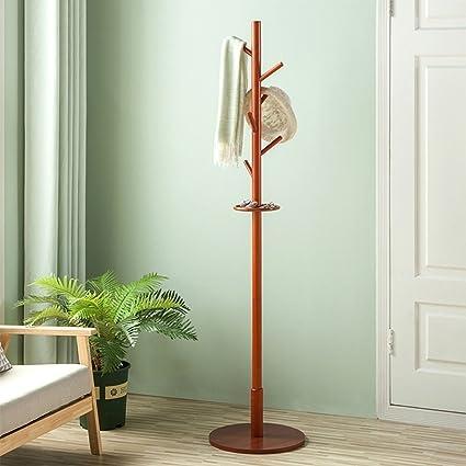 C-Bin1 Creativo perchero, suelo de madera perchero Bandeja ...