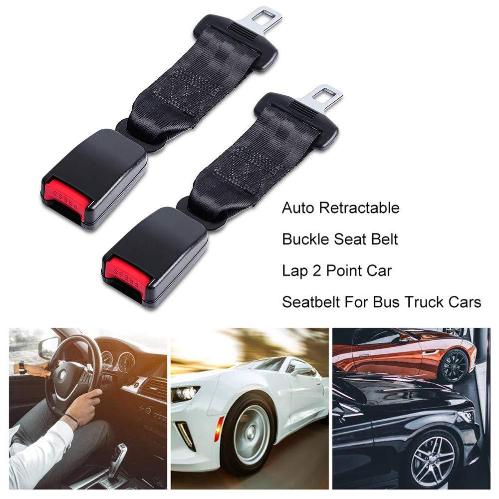Plug and Play,Black//2pc 230 Mm /× 47 Mm siberiantiger Cinturon De Seguridad丨Cintur/óN De Coche丨Embarazadas Ancianos Asientos Ni/ñO Obesidad丨Port/áTil