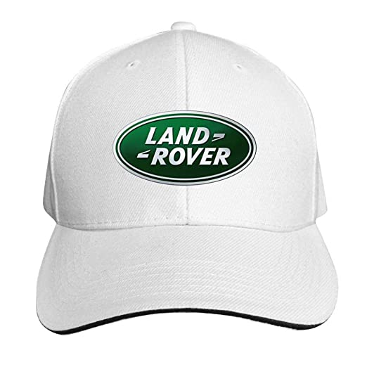 2bad4cc49a9 Image Unavailable. Image not available for. Color  Wegbgi Land Rover Emblem  Unisex Peaked Baseball Cap ...
