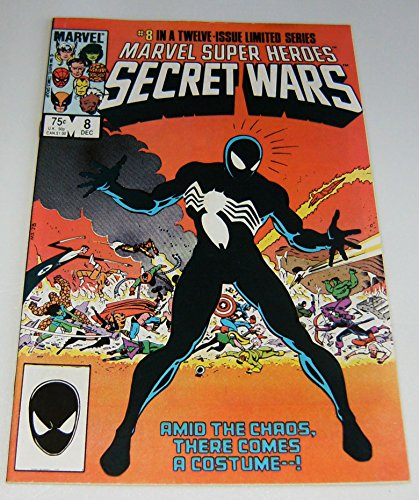 Crystal Superhero Costume (MARVEL SUPER HERO SECRET WARS #8 [First black Spider-Man costume])