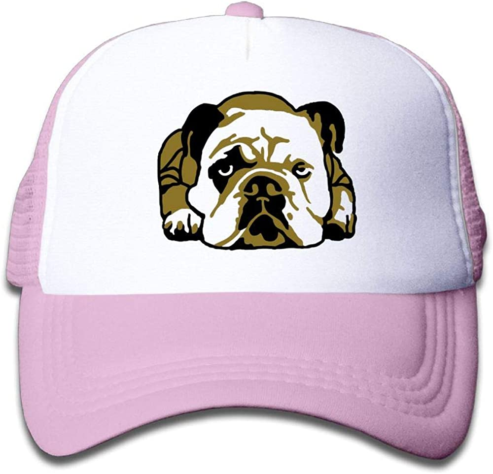 Aiw Wfdnn Mesh Baseball Hat Girls English Bulldog Cool Adjustable