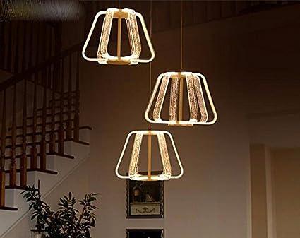 Gzlight hängeleuchte kronleuchter deckenlampe restaurant acryl