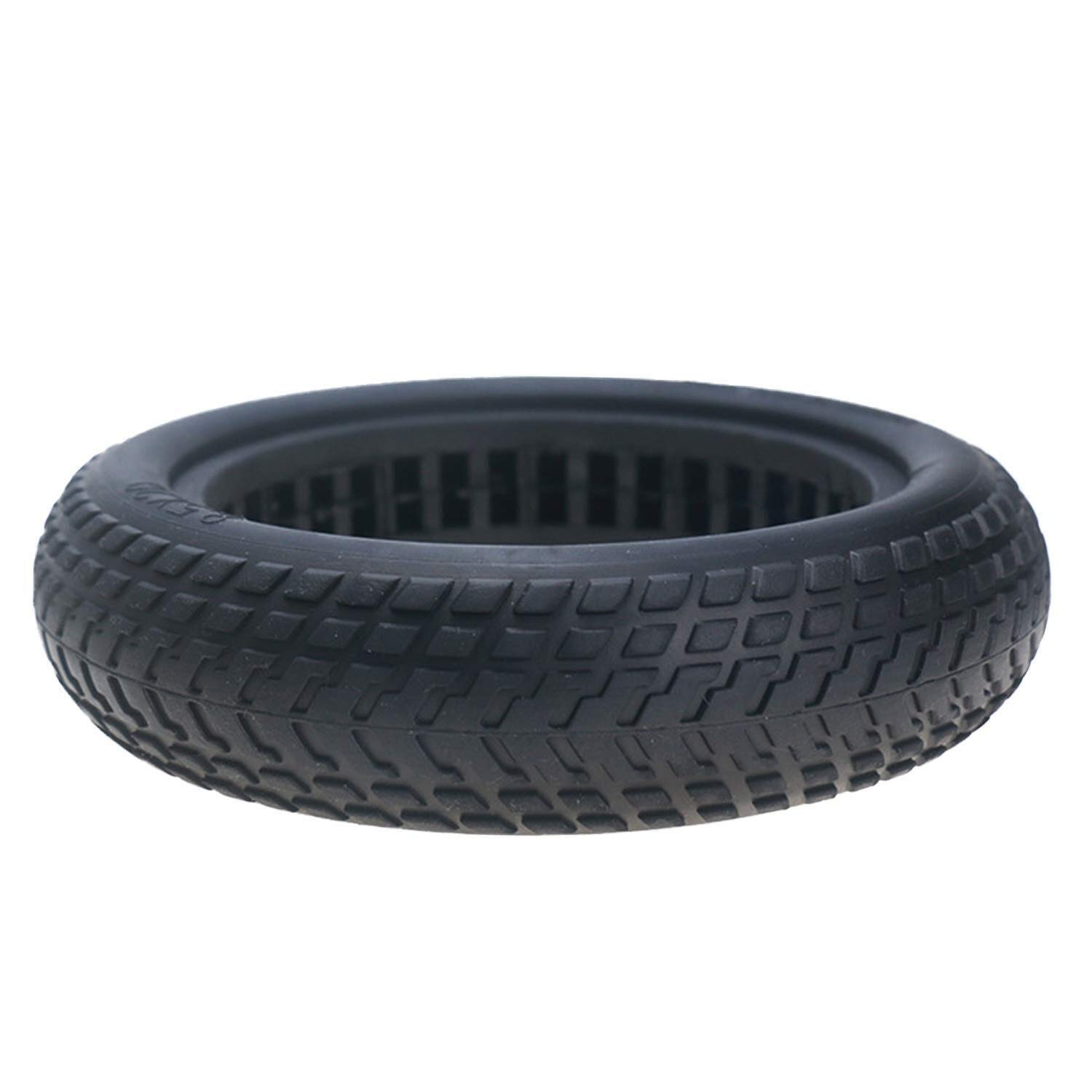 Trailer skateboard tire 8.5inch Shock-absorption Hollow Semi-Solid Anti-slip Rubber Wheel Tire Tyre Compatible with Xiaomi Xiao Mi Mijia M365 Electric Scooter Rubber tires for scooters trolleys