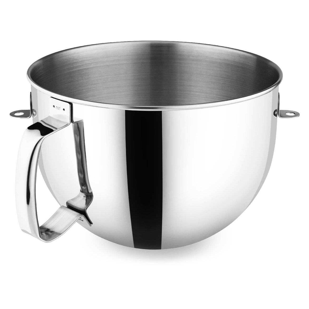 KitchenAid 6-qt. Mixing Bowl with Ergonomic Handle.