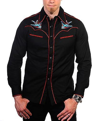 Swallow Banned – Camisa Camiseta Black de red negro 48 ...