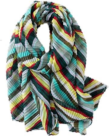 Fablcrew Algodón Chal Invierno Mujer Bufanda para Mujer de Invierno Bufanda para Mujer Verde Verde 180×90cm: Amazon.es: Hogar