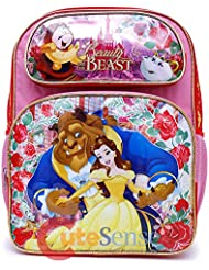 Disney Beauty and the Beast School Backpack 16 Large Belle Girls Book Bag