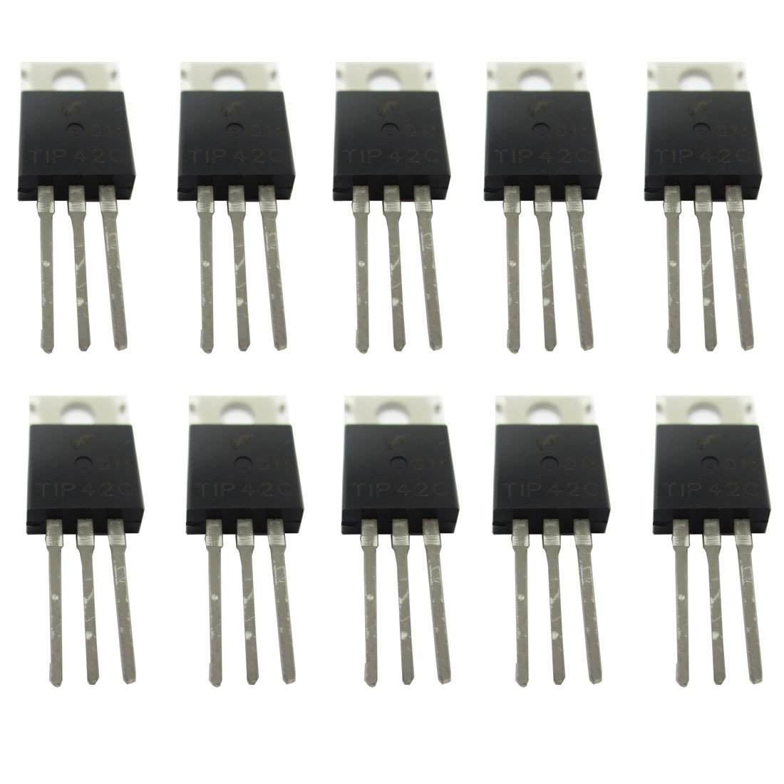 Frequency Divider By One Transistor Bc549 Simple Electronic Microphone Preamplifier With Bjt And Op Amp Youspice Tip42c Tip42 Pnp Complementary Power To 220 10 Pack Product Image