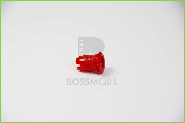 Original Bossmobil Kompatibel Mit Zierleisten Druckknopf Befestigung TÜllen Clips In Rot 19882081 Neu 11 X 13 X 6 Mm Menge 3 Stück Auto