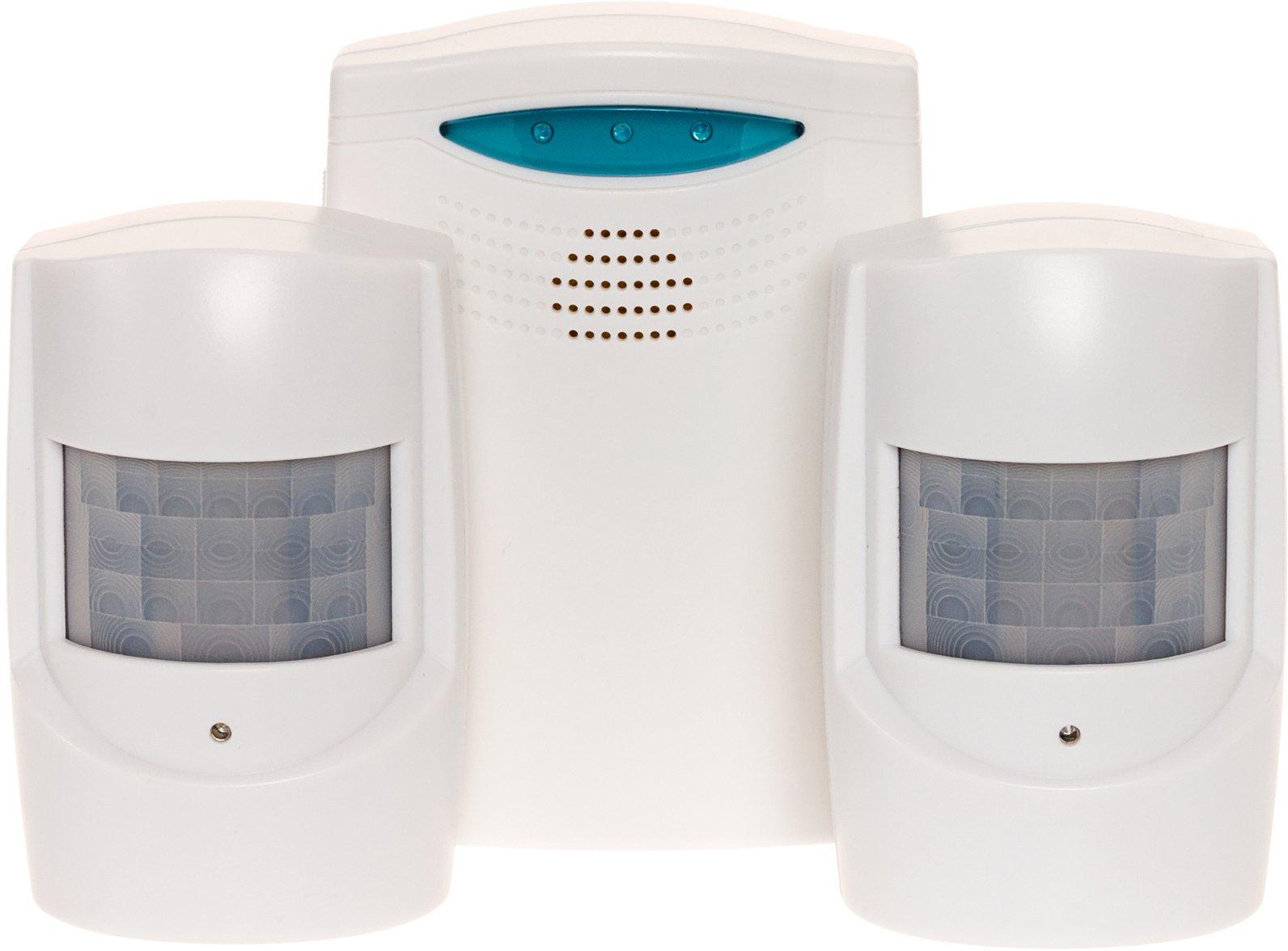 Wireless Home Security System - 1x Alarm + 2x Sensor Set by Reusable Revolution