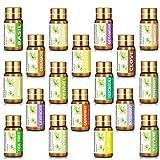 KIUNO Essential Oils Set 18×5ML 100% Pure Top Therapeutic Grade...