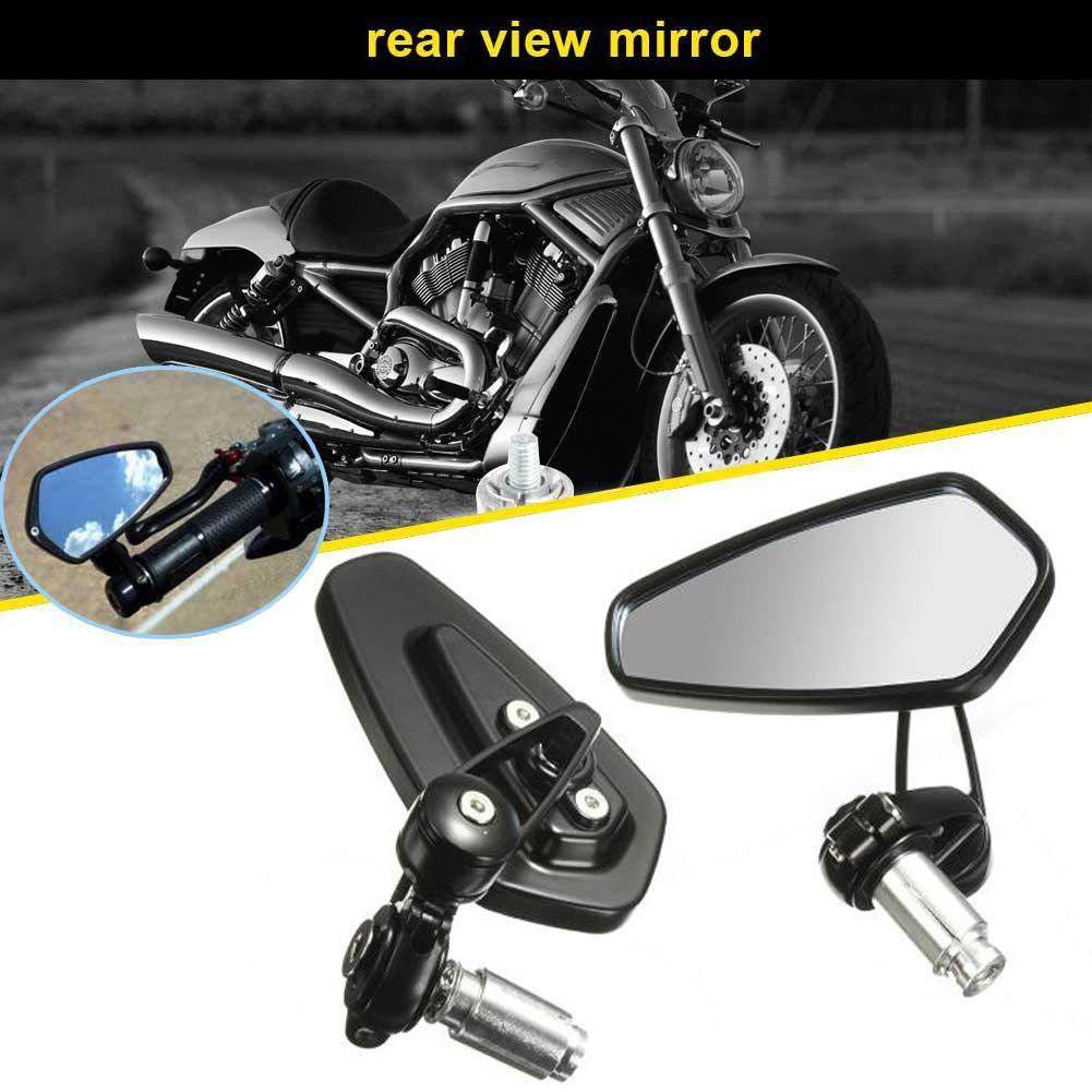 Aolead Motorcycle Rearview Side Mirrors 7/8'' 22mm Handlebar CNC Bar End Mount Scooter Cruiser Sport Bike shenzhen shi dongda yuntong guoji huoyun dai li you xian gong si