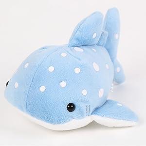 TSTADVANCE Munyu Mamu Whale Shark Plush Toy M Size 4.3 inch … (Whale Shark)