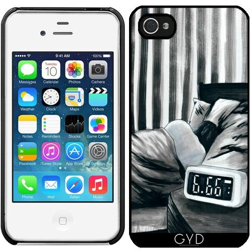 Coque pour Iphone 4/4S - 6.66 Am by zombierust