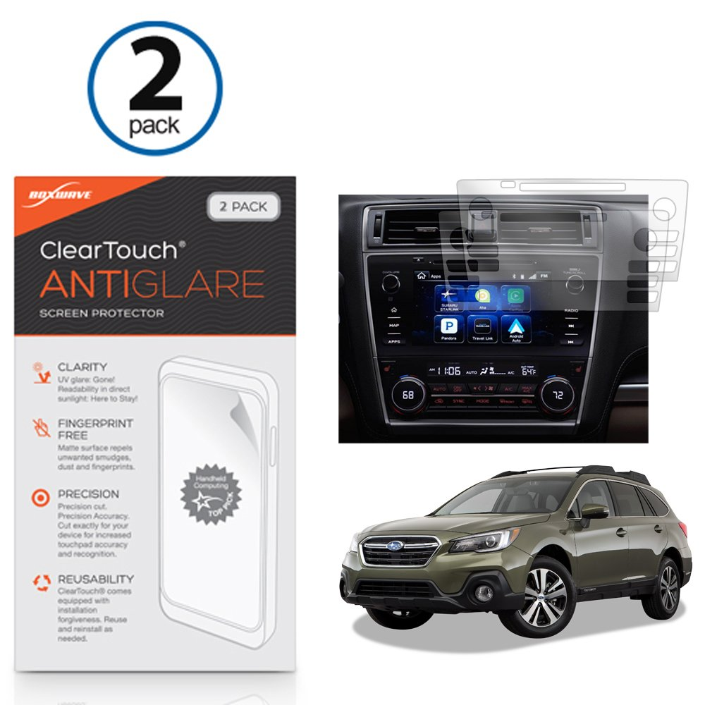 Subaru 2018 Outback 8 In Screen Protector Boxwave 2003 Forester Fuse Box Location Cleartouch Anti Glare 2 Pack Fingerprint Matte Film Skin For