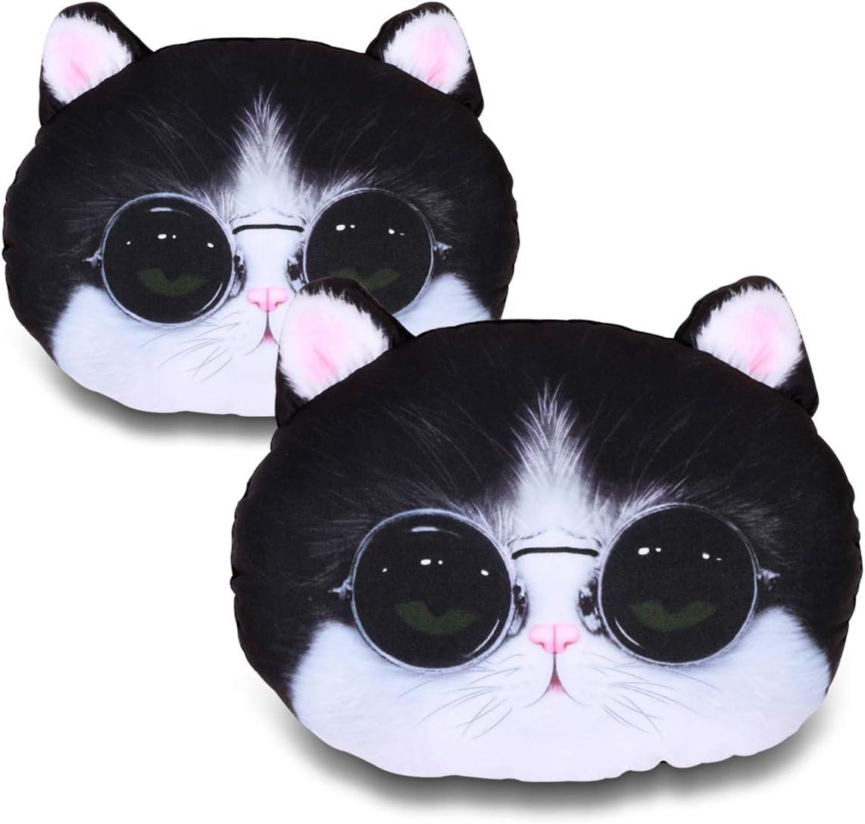 Lovely cat VXAR Auto Car Headrest Pillow Cushion